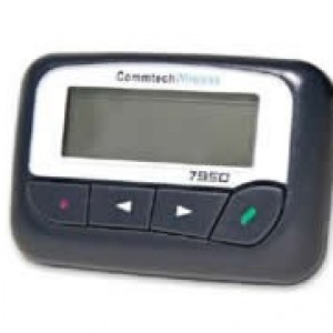Commtech 7950R UHF pager